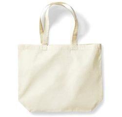 Bavlněná taška s širokým bokem