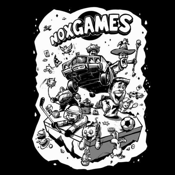 trika games tisk