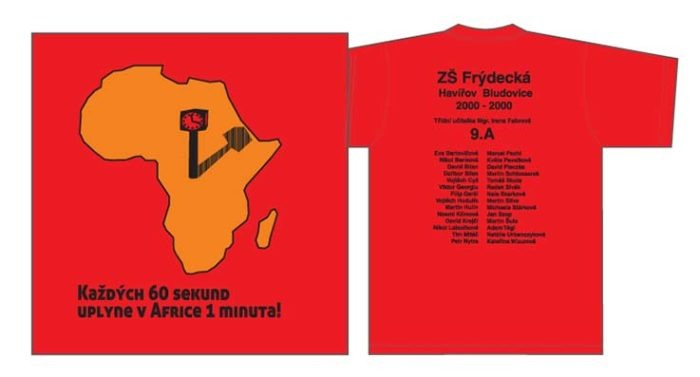 01 Každých 60 sekund uplyne v Africe 1 minuta