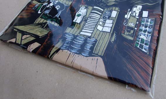 Balení potištěného textilu