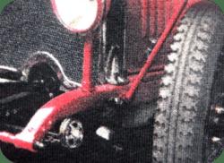 Jemný a prodyšný tisk na textil sítotiskem