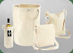 Široký sortiment látkových tašek