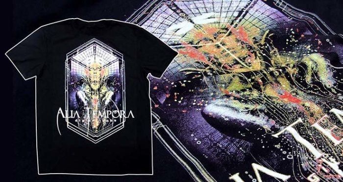 Alia Tempora, tričko s krátkým rukávem. Merch.